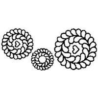 """3""""; 5"""" & 7"""" Blocks 8""""X18"""" - Quilt Stencils"""