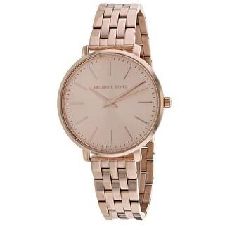 Michael Kors Women's Pyper Rose Gold Dial Watch