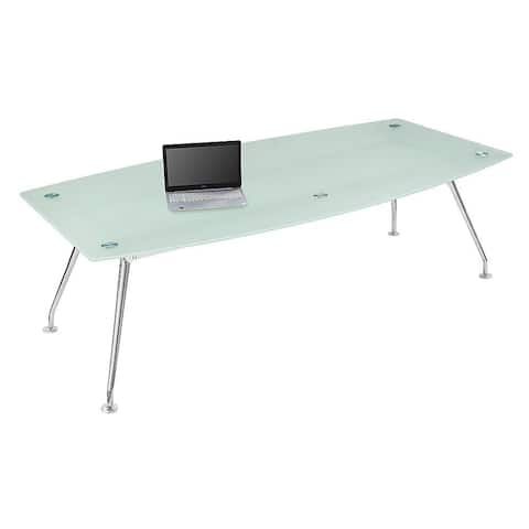 """Forward Furniture Brilliant 95"""" x 48"""" Boat Shape Conference Table - Commercial Grade - 95"""" x 48"""" x 29"""""""