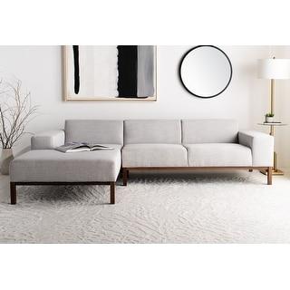 Safavieh Couture Dove Mid-Century Sectional Sofa