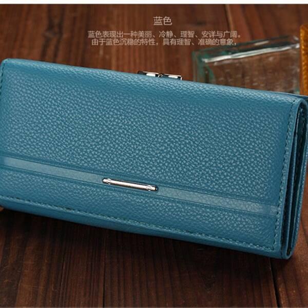 Noble Famous Brand Women Wallet Case Purses Women Passport Certification Photo Frame Slot Carteira Femanine Leather On Sale Overstock 31152848
