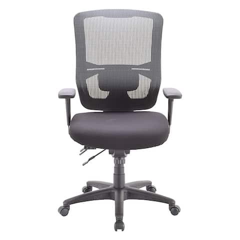 Apollo II Multifunction Swivel Task Chair, High Back with Lumbar Pad