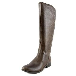 Jessica Simpson Randee   Round Toe Leather  Knee High Boot