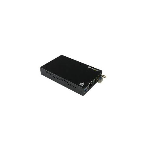 Startech - Et91000sm10 Gbe Fiber Media Convertern10kmfiber-To-Copperlc Sm