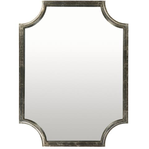 "Mellieha Gilded Finish Wall Mirror (29.75 x 40) - 29.8"" x 40"""