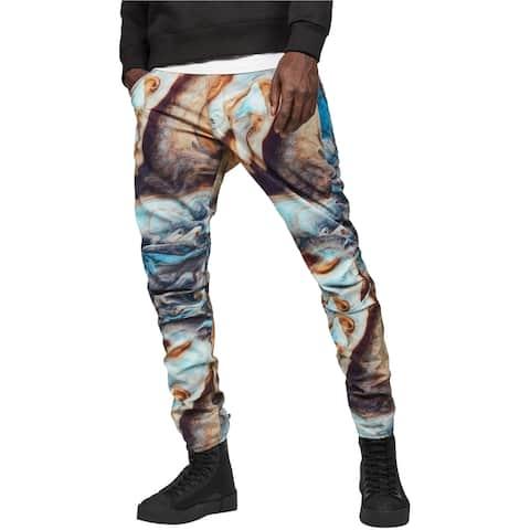 G-Star Raw Mens Tapered Printed Skinny Fit Jeans, blue, 32W x 32L - 32W x 32L