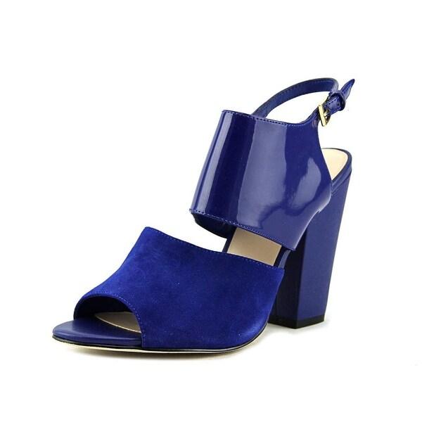 Nine West Oresah Open Toe Leather Sandals