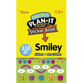 Project Plan It Sticker Book -Smiley 338/Pkg