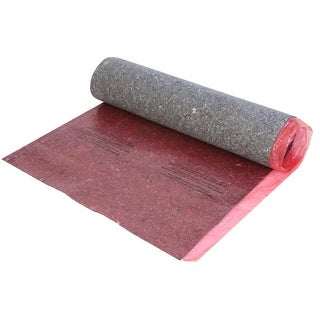 Miseno MFLR-FU81432 GoldStep Fiber Underlayment with Film, Tape and Flap (100 sq ft) - red/gray - N/A