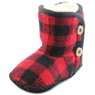 Ugg Australia Baby Purl Infant Round Toe Canvas Multi Color Ankle Boot