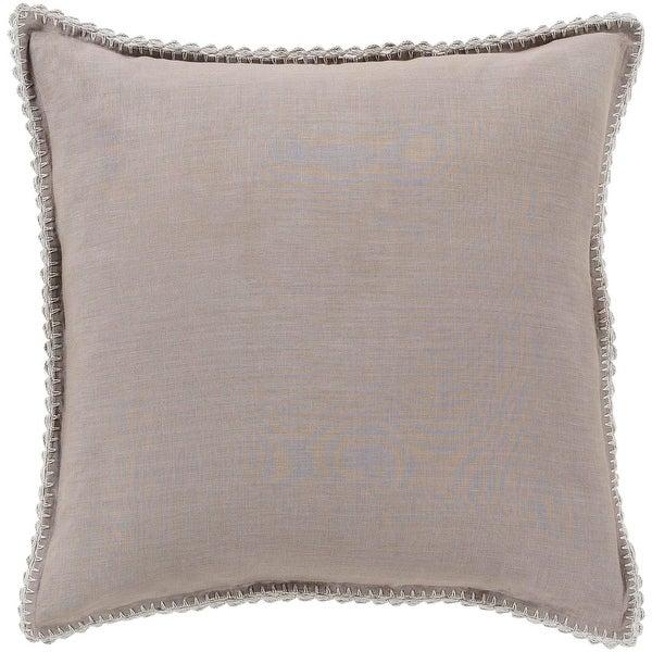 "26"" Elephant Gray Colored Envelope Closure Euro Style Size Pillow Sham"
