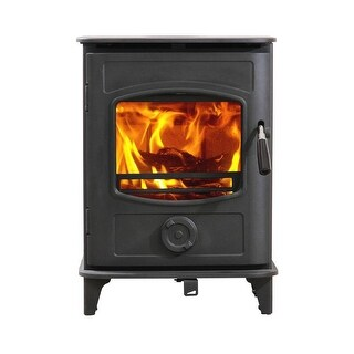 HiFlame Graphite HF905UA Small 800Sq.Feet Wood Stove