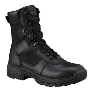 "Propper Men's Series 100 8"" Comp-Toe Side Zip Waterproof Boot Black"