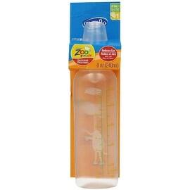Evenflo Classic Zoo Friends Slow Flow BPA Free Plastic Bottles 8 oz, Assorted 1 ea