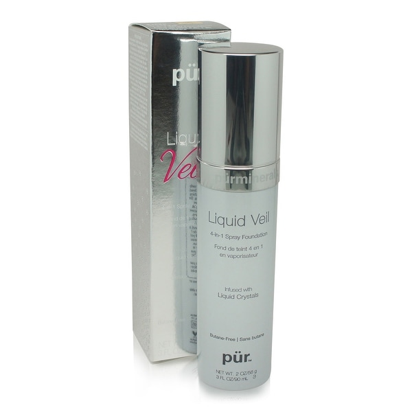 PUR Liquid Veil 4 in 1 Spray Foundation - Light 3 Oz