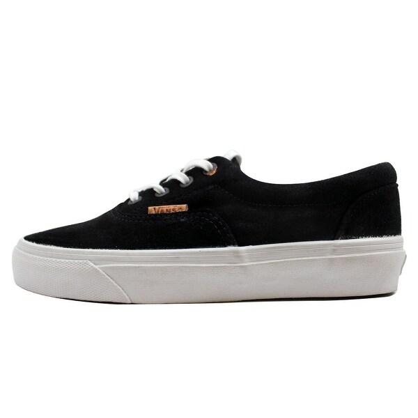 Vans Men's Era CA Black Premium Suede VN-0ZUJFKF Size 5