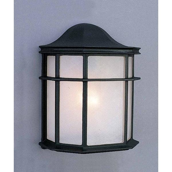 Volume Lighting 2-Light Black Outdoor Wall Sconce Black V9636-5