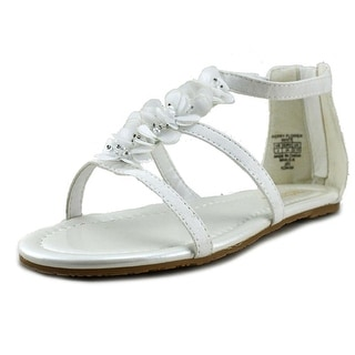Kenneth Cole Reaction Kerry Flower   Open Toe Synthetic  Sandals
