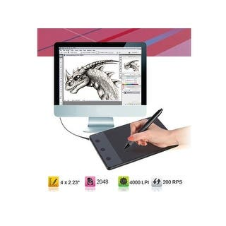 """4 x 2.23"""" Anti-interference USB Art Graphics Drawing Pen Tablet With Touch Digital Pen For Computer