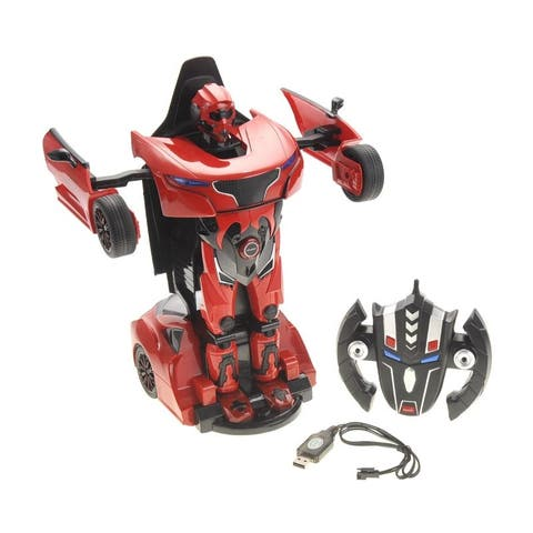 1:14 RS Transformer 2.4G Robot Car (Red)