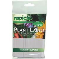 """Luster Leaf 50Pk 4"""" Plant Labels 827 Unit: EACH"""