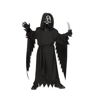 Kids Ghost Face 25th Silver Edition Scream Costume