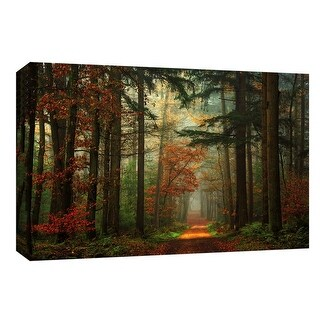 "PTM Images 9-148023  PTM Canvas Collection 8"" x 10"" - ""Deep Forest"" Giclee Forests Art Print on Canvas"