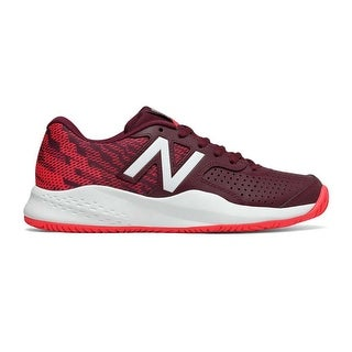 New Balance Womens WCH69603 Low Top Lace Up Tennis Shoes - 5