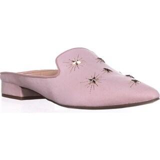 Franco Sarto Samanta Studded Backless Loafers, Pink