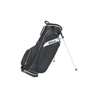 Wilson Golf Unisex Profile Golf Carry Bag (Black)