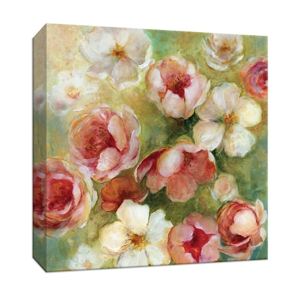 "PTM Images 9-146888 PTM Canvas Collection 12"" x 12"" - ""Sweet Scent I"" Giclee Flowers Art Print on Canvas"