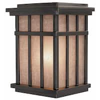 Dolan Designs 9142 Craftsman / Mission 1 Light Outdoor Wall Sconce from the Freeport Collection