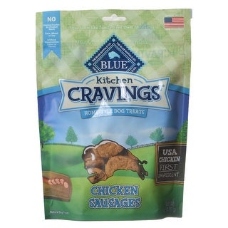 Blue Buffalo Kitchen Cravings Homestyle Dog Treats Chicken Sausages 6 oz