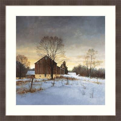Breaking Light by Ray Hendershot 32-inch x 32-inch Framed Wall Art Print