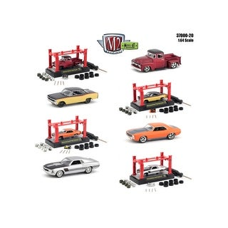 Model Kit 4 pieces Set Release 20 1/64 Diecast Model Cars by M2 Machines