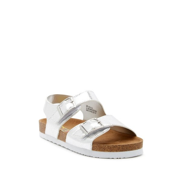 Shop Rachel shoes Girls Lil Jill Buckle Ankle Strap Slide Sandals ... c8afdc202559