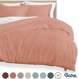 Link to Bare Home Premium Sandwashed Microfiber Duvet Cover & Sham Set Similar Items in Duvet Covers & Sets