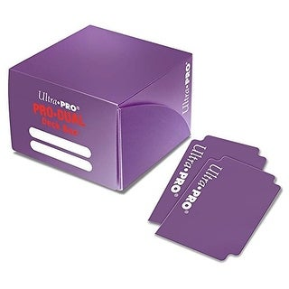 Ultra PRO Dual Deck Box, Purple, Standard