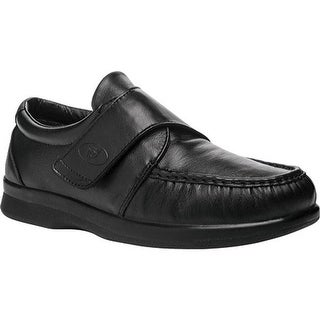 Propet Men's Pucker Moc Strap Black