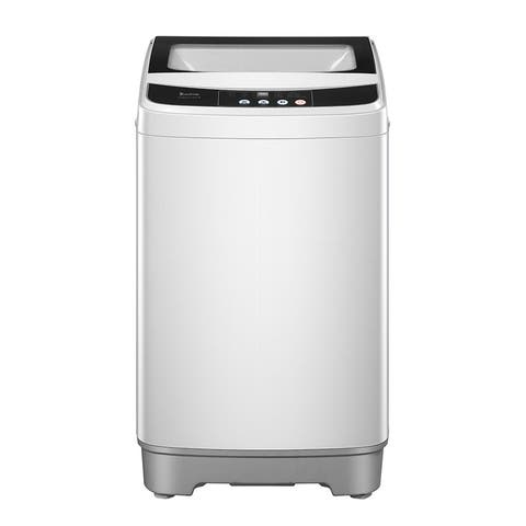 13.3lbs Portable Full-Automatic Laundry Washer with 10 programs 8 Water Level Selections
