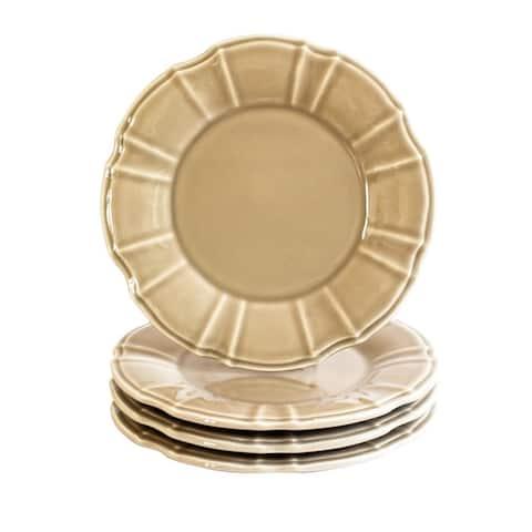 Euro Ceramica Chloe Salad Plates, Set of 4