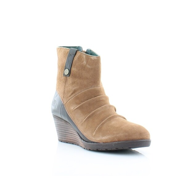 North Face Bridgeton Women's Boots Dachshund Brown / Darkest Spruce - 7.5