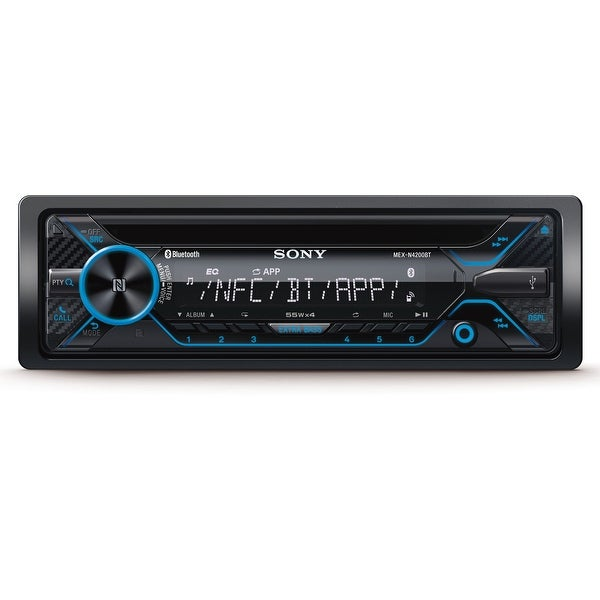 Sony MEX-N4200BT CD Receiver with Bluetooth & SongPal