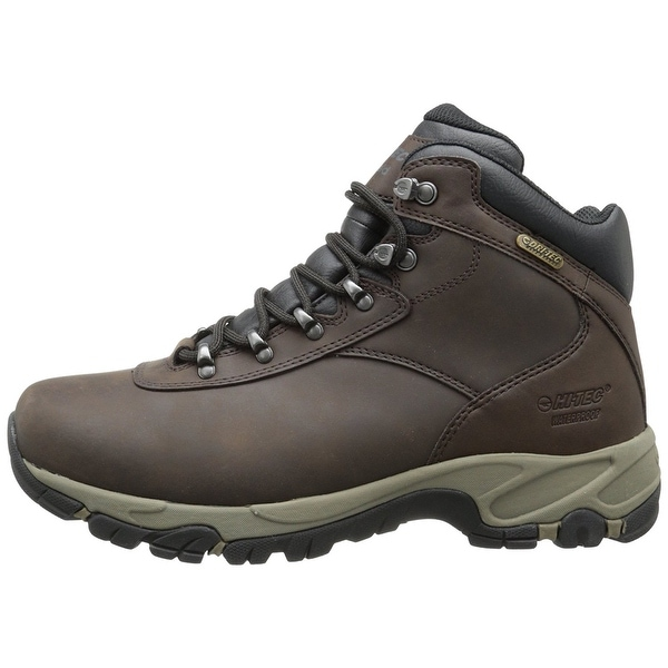 Hi-Tec Mens Altitude V I Waterproof Hiking Boot 52048 - dark chocolate/dark taupe/black
