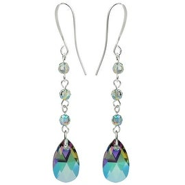 Swarovski Drop Earrings - Crystal Paradise - Exclusive Beadaholique Jewelry Kit