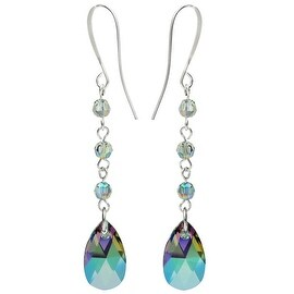 Swarovski Elements Drop Earrings - Crystal Paradise - Exclusive Beadaholique Jewelry Kit