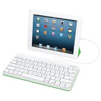 Logitech Wired Keyboard For Ipad With Lightning Connector – White (920-006341)