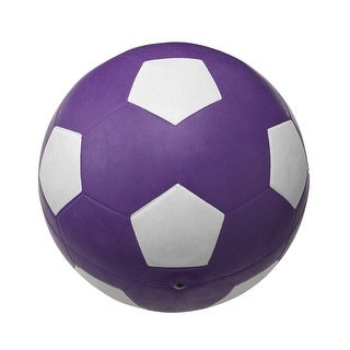 School Smart No 5 Soccer Ball, Violet