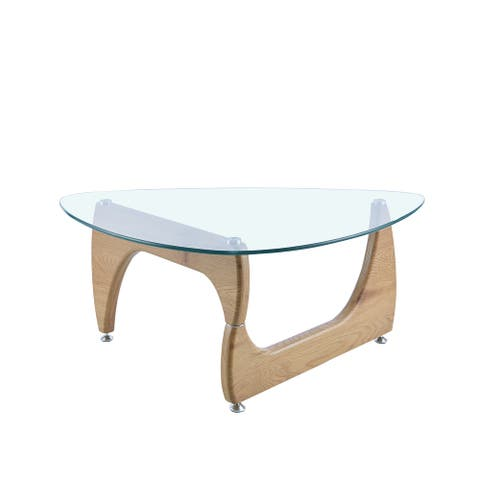 Triangle Coffee Table natural
