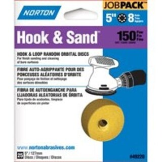 Norton 49220 Hole Hook & Sand Disc 150 Grit